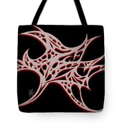 Bushal Of Thorns- Blue Shadow Tote Bag