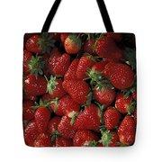 Bushel Of Strawberries Tote Bag