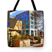 Business Point Of View Tote Bag