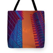 Business Travel, Architectural Abstract Tote Bag