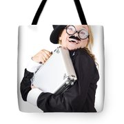 Business Woman In Disguise Tote Bag