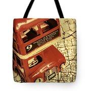 Bussing Britain Tote Bag
