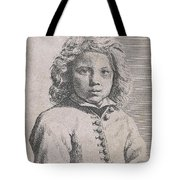 Bust Of A Boy Tote Bag