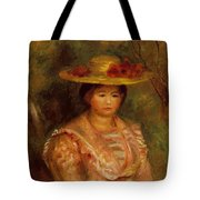 Bust Of A Woman Gabrielle Tote Bag