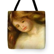 Bust Of A Young Nude 1903 Tote Bag