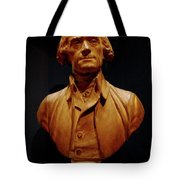 Bust Of Thomas Jefferson  Tote Bag
