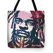 Busta Rhymes Pop Art Poster Tote Bag