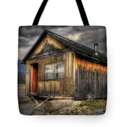 Busted Shack Tote Bag
