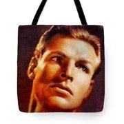Buster Crabbe, Vintage Hollywood Legend Tote Bag
