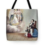 Bustos: Worship, 1879 Tote Bag