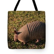 Busy Armadillo Tote Bag