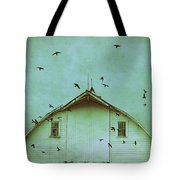 Busy Barn Tote Bag by Julie Hamilton