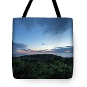 Busy Boats At Blue Hour Tote Bag