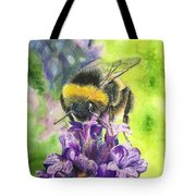 Busy Bumblebee Tote Bag