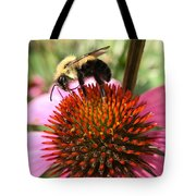 Busy Coneflower Tote Bag