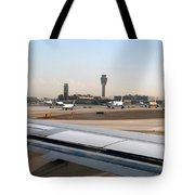 Busy Day At Sky Harbor Tote Bag