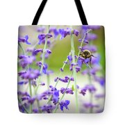 Busy In Lavender 3 Tote Bag