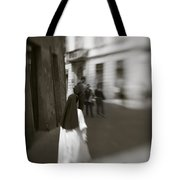 Busy Nun Tote Bag