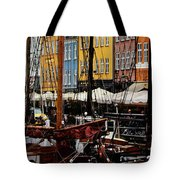 Busy Nyhavn Tote Bag