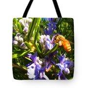 Busy Rosemary Honeybee Tote Bag
