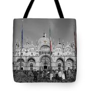 Busy St Marks Tote Bag