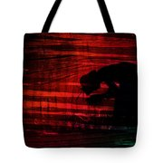 Man Is Born Unto Trouble Tote Bag