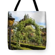 Butchart Gardens Arches Tote Bag