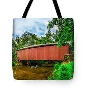 Butchers Mill Covered Bridge Tote Bag