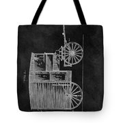 Butcher's Wagon Patent Tote Bag