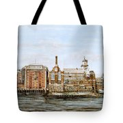 Butlers Wharf And Courage's Brewery Tote Bag