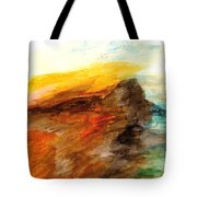 Butte At Sunset Tote Bag