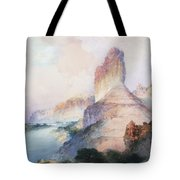 Butte Green River Wyoming Tote Bag