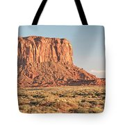 Butte, Monument Valley, Utah Tote Bag