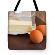 Butter And Eggs Tote Bag