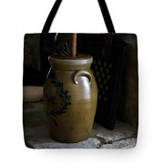 Butter Churn On Hearth Still Life Tote Bag