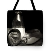 Butter Mold And Milk Bottles Tote Bag