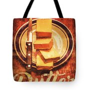Butter Since Sliced Bread Display Tote Bag