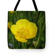 Buttercup Flower Tote Bag