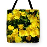 Buttercup Flowers Tote Bag