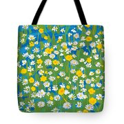 Buttercups And Daisies Tote Bag