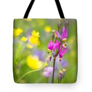 Buttercups And Shooting Star 1 Tote Bag