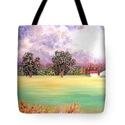Butterfield Meadows Three Tote Bag