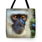 Butterflies And The Vervet  Tote Bag