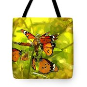 Butterflies Tote Bag by Ankeeta Bansal