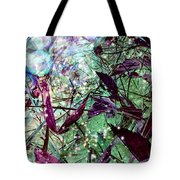Butterflies At Night  Tote Bag