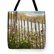 Butterflies By The Seashore Tote Bag