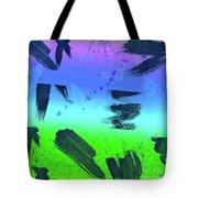 butterflies in Colors Tote Bag