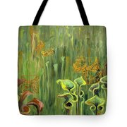 Butterflies In The Bog Tote Bag