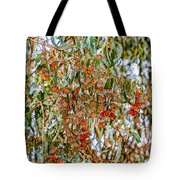 Butterflies In The Grove  Tote Bag