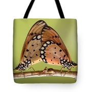 Butterflies Mating Tote Bag